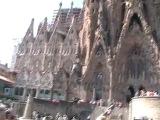 Испания 2011 г. Барселона . Храм святого семейства .